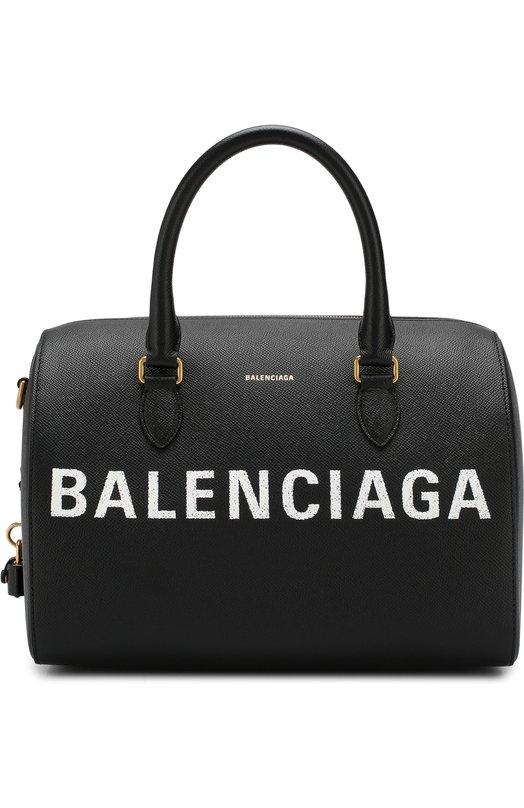 Купить Сумка Ville M Balenciaga, 518804/00T0M, Италия, Черный, Кожа: 100%;