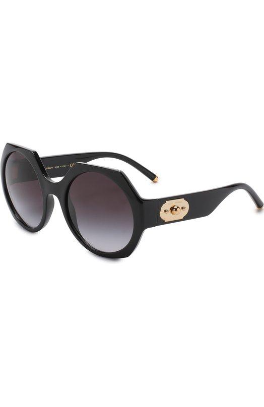 Купить Солнцезащитные очки Dolce & Gabbana, 6120-501/8G, Италия, Черный