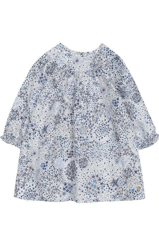 Купить Хлопковое платье свободного кроя Tartine Et Chocolat, TM30201/1M-18M, Тунис, Разноцветный, Хлопок: 100%;