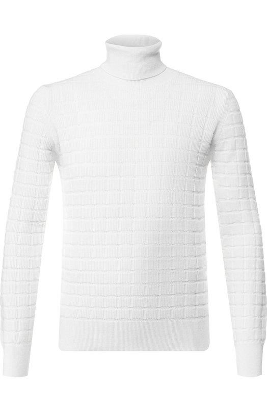 Кашемировый свитер с воротником-стойкой Cruciani