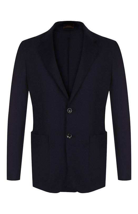 Однобортный пиджак из кашемира Zegna Couture