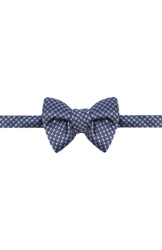 Купить Шелковый галстук-бабочка Tom Ford, 4TF08/4CH, Италия, Синий, Шелк: 100%;