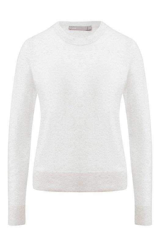Купить Кашемировый пуловер с круглым вырезом Vince, V525677898, Китай, Кремовый, Кашемир: 100%;