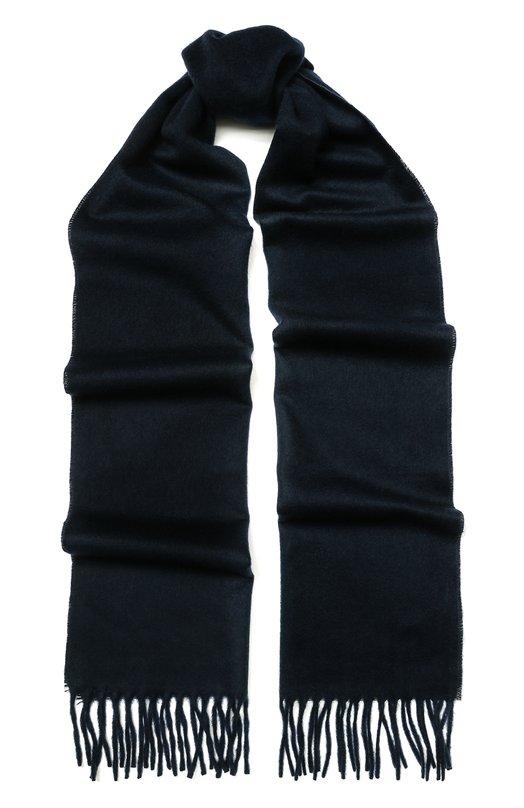 Кашемировый шарф с бахромой AD56