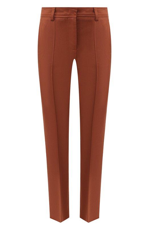 Купить Укороченные брюки со стрелками M Missoni, QD0RB0612UC, Румыния, Коричневый, Лиоцелл: 53%; Вискоза: 44%; Эластан: 3%;