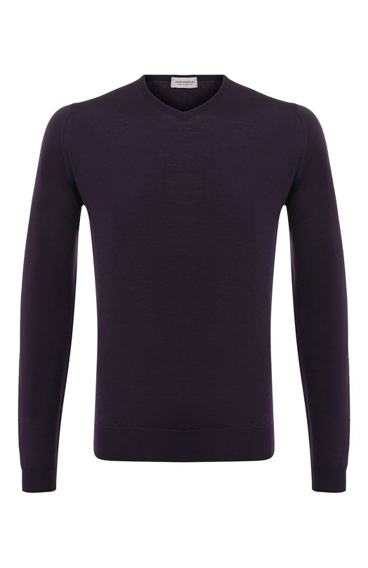 Пуловер из шерсти тонкой вязки John Smedley