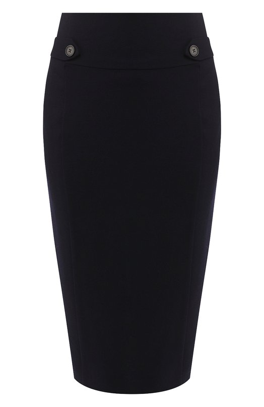 Купить Шерстяная юбка-карандаш Windsor, 52 DR821H 10001443, Китай, Темно-синий, Шерсть: 100%;