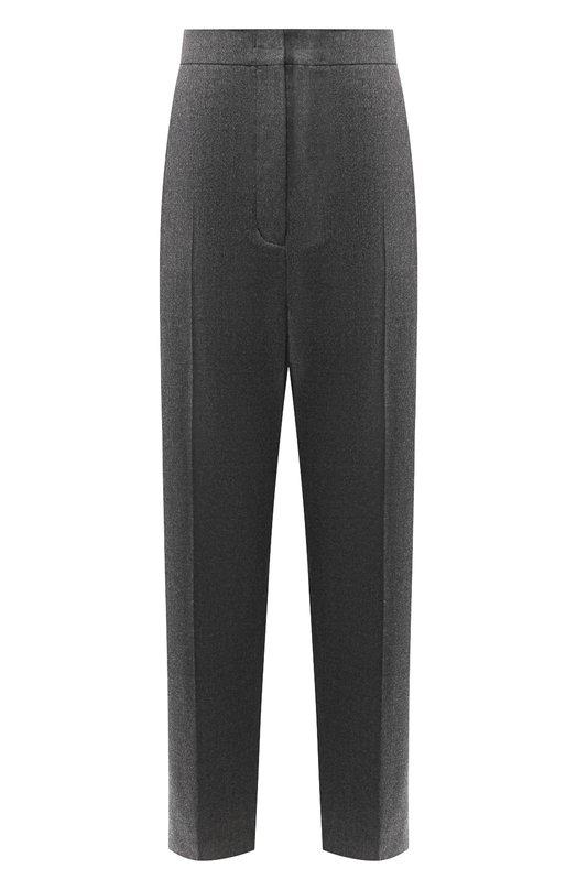 Купить Шерстяные брюки со стрелками Joseph, JP000532, Румыния, Темно-серый, Шерсть: 98%; Эластан: 2%;