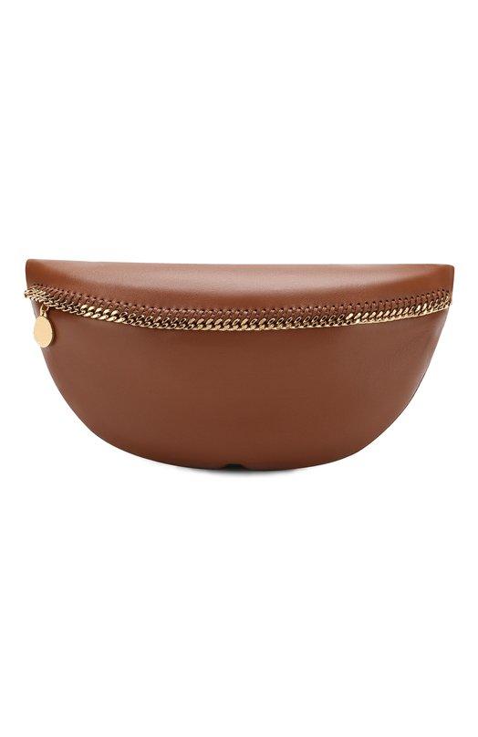 Купить Поясная сумка Falabella из эко-кожи Stella McCartney, 541678/W8394, Италия, Коричневый, Полиуретан: 53%; Полиэстер: 47%;