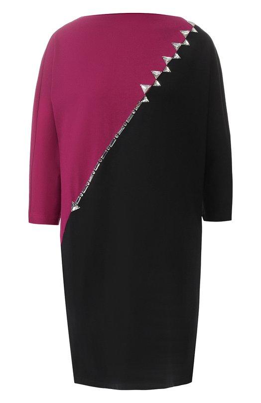 Купить Хлопковое платье с декоративной отделкой Marc Jacobs, M4007761, Китай, Фуксия, Хлопок: 100%;