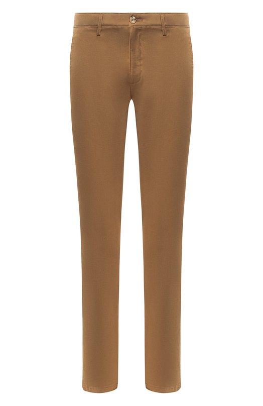 Купить Хлопковые брюки прямого кроя Kenzo, 5PA2121TA, Тунис, Бежевый, Эластан: 2%; Хлопок: 100%;