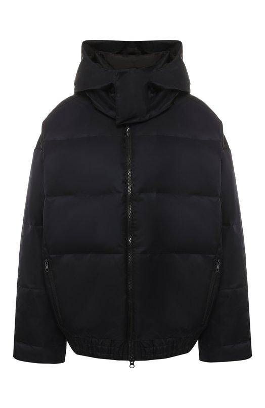 Купить Пуховая куртка с капюшоном Y-3, DP0714/W, Китай, Черный, Полиамид: 100%; Подкладка-текстиль: 100%; Наполнитель-утиный пух: 100%;