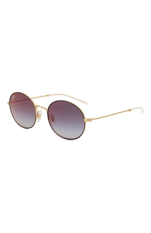 Купить Солнцезащитные очки Ray-Ban, 3594-9114U0, Италия, Золотой, Линзы-Поликарбонат; Оправа-Металл;