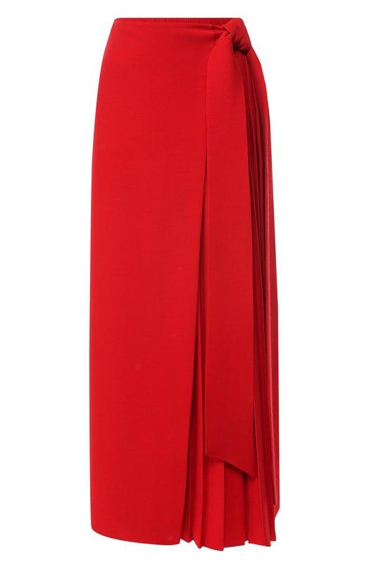 Юбка из смеси шелка и шерсти Valentino Valentino