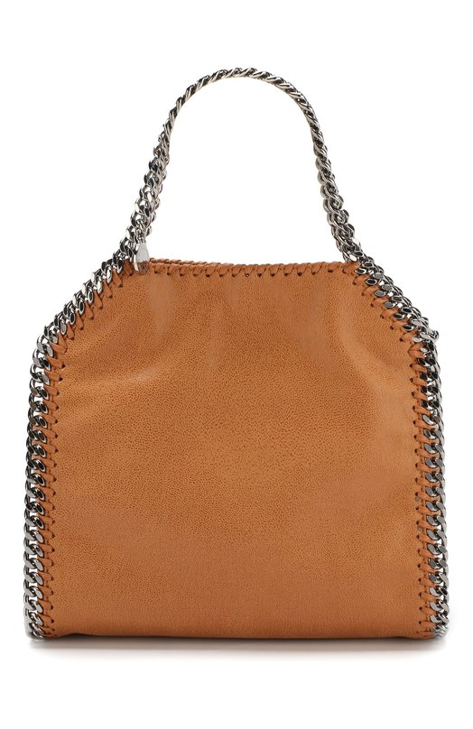 Купить Сумка-тоут Falabella Shaggy Deer mini из эко-кожи Stella McCartney, 371223/W9132, Италия, Коричневый, Полиэстер: 100%;