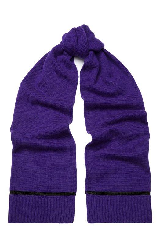 Купить Шарф из смеси шерсти и кашемира Escada Sport, 5028177, Китай, Фиолетовый, Шерсть: 90%; Кашемир: 10%;