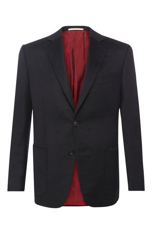 Купить Однобортный пиджак из кашемира Pal Zileri, N32X023-2--41180, Италия, Темно-синий, Кашемир: 100%;