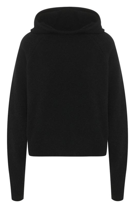 Шерстяной пуловер с капюшоном Isabel Benenato