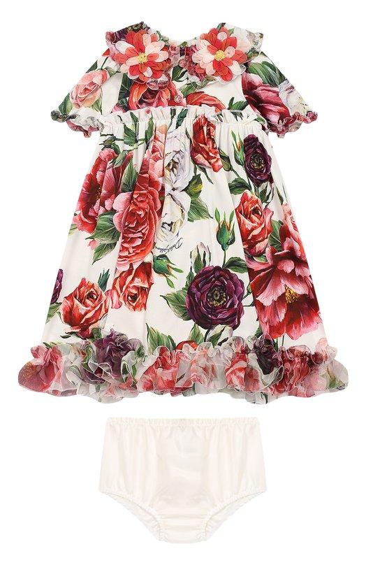 Комплект из платья и трусов  Dolce & Gabbana