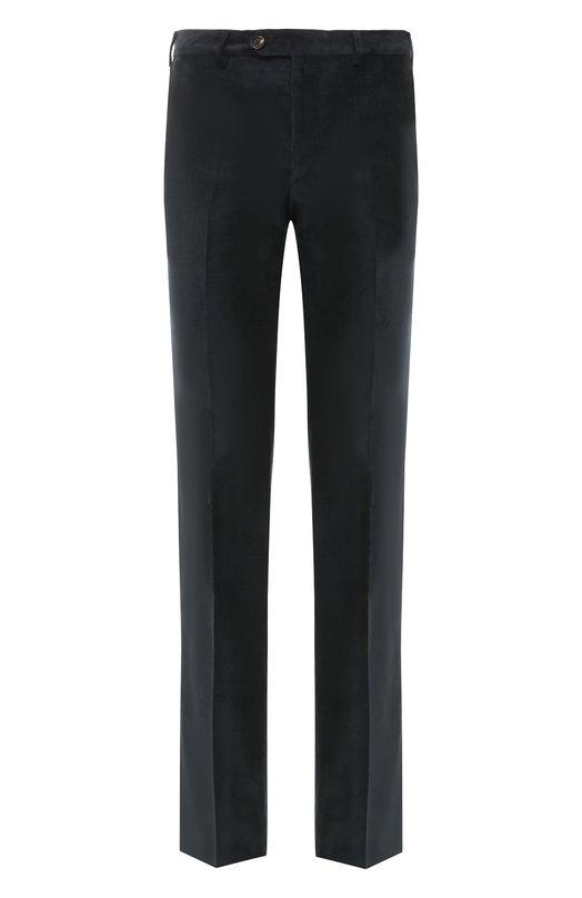 Купить Хлопковые брюки прямого кроя Pal Zileri, N3110--K---42015, Италия, Серый, Хлопок: 98%; Эластан: 2%;