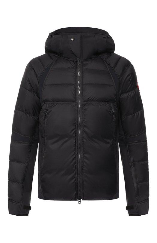 Купить Пуховая куртка Hybridge Sutton на молнии с капюшоном Canada Goose, 2728M, Канада, Черный, Полиамид: 100%; Подкладка-Текстиль: 100%; Наполнитель-Гусиный пух: 100%;