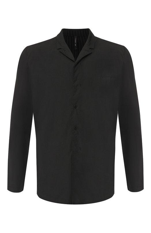 Купить Рубашка из смеси хлопка и вискозы с шерстью Transit, CFUTRGY342, Италия, Черный, Отделка-Лен: 85%; Хлопок: 70%; Шерсть: 5%; Вискоза: 25%; Отделка-Полиамид: 15%;