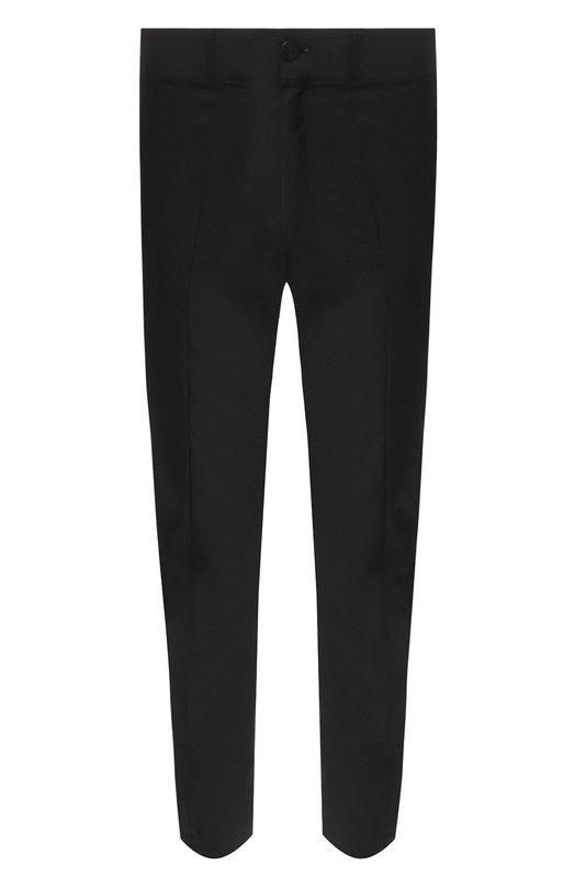 Купить Укороченные шерстяные брюки прямого кроя Damir Doma, CF1M0024/F2648, Италия, Черный, Шерсть: 100%;