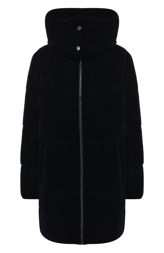 Купить Куртка с воротником-стойкой и капюшоном MICHAEL Michael Kors, 77G3590M82, Китай, Темно-синий, Полиэстер: 85%; Хлопок: 15%; Подкладка-полиэстер: 100%;