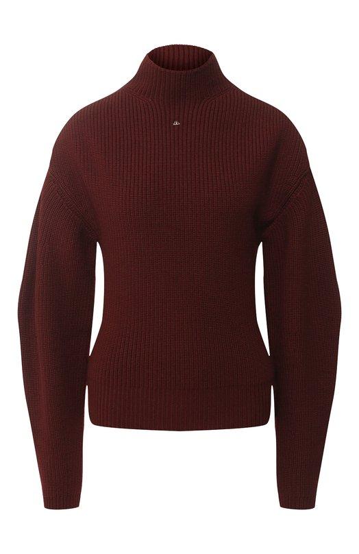 Шерстяной пуловер с высоким воротником Lanvin