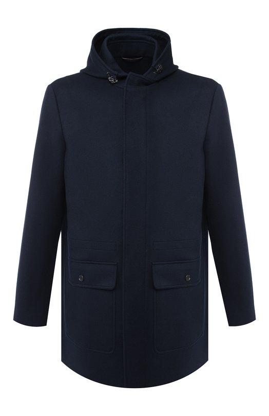 Купить Кашемировая куртка на молнии с капюшоном Loro Piana, FAI1818, Италия, Темно-синий, Кашемир: 100%; Подкладка-текстиль: 100%;