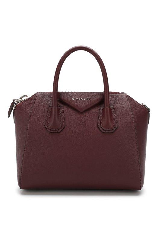 Купить Сумка Antigona small Givenchy, BB05117012, Италия, Бордовый, Кожа натуральная: 100%;