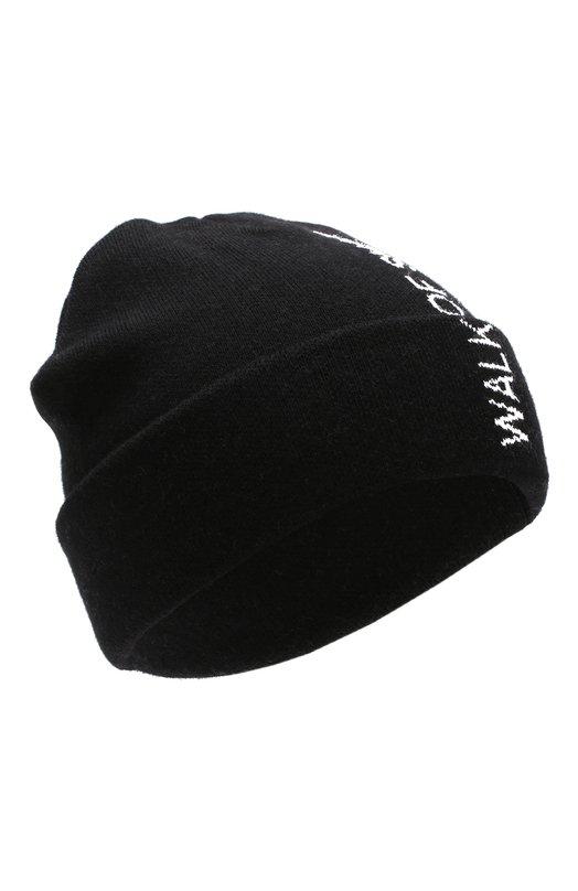 Купить Хлопковая шапка с принтом Walk of Shame, H002-FW18-19, Россия, Черный, Хлопок: 100%;