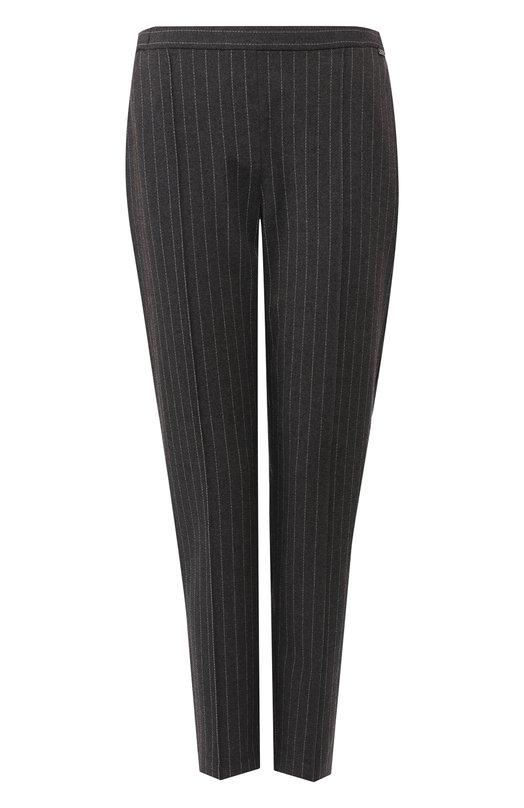 Купить Укороченные брюки со стрелками St. John, K80TW51, США, Серый, Вискоза: 69%; Полиамид: 26%; Эластан: 2%;