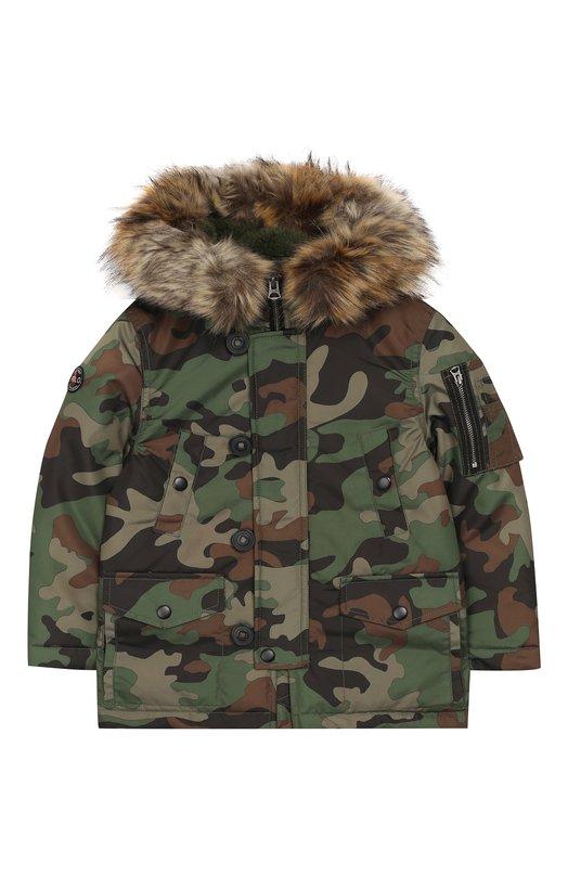 Купить Куртка на молнии с капюшоном Polo Ralph Lauren, 321703263, Китай, Хаки, Полиэстер: 100%; Подкладка-текстиль: 100%;