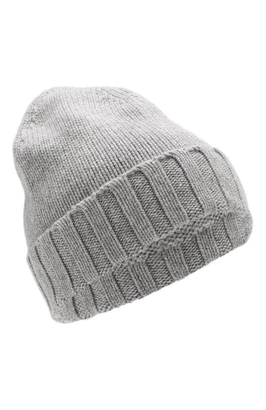 Купить Кашемировая шапка Ermenegildo Zegna, Z4L54/ZI9, Италия, Серый, Кашемир: 100%;