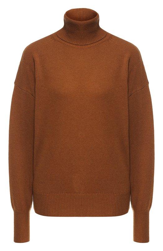 Кашемировый пуловер с высоким воротником Theory