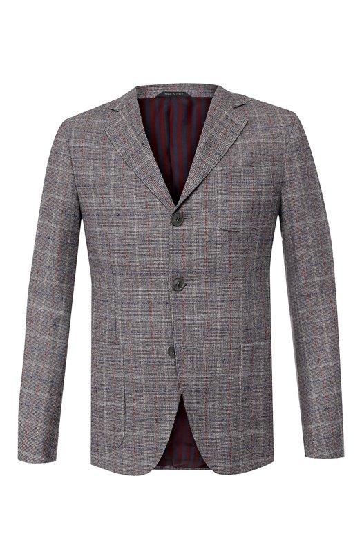 Пиджак из смеси шерсти и кашемира Giorgio Armani