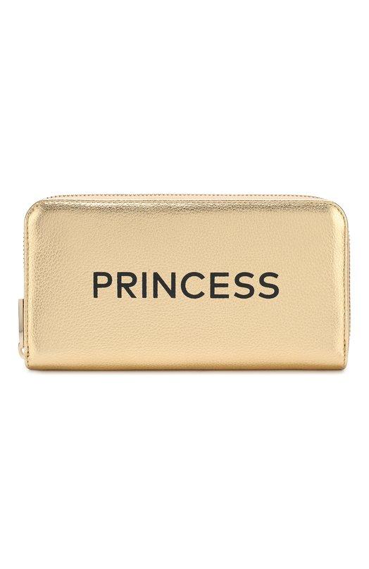 Купить Кожаный кошелек на молнии Coccinelle, E2 CT0 11 04 01, Китай, Золотой, Кожа натуральная: 100%;