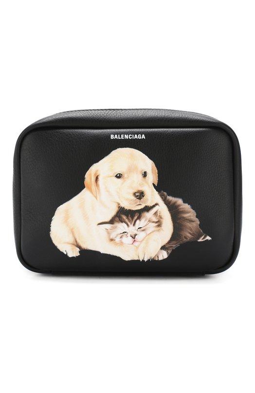 Купить Сумка Everyday Camera S Balenciaga, 489812/D6WDN, Италия, Черный, Кожа натуральная: 100%;