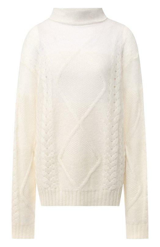 Вязаный пуловер с высоким воротником Maison Margiela