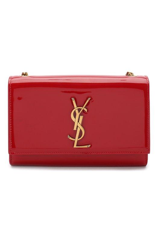 Купить Сумка Monogram Kate small Saint Laurent, 469390/0UF0W, Италия, Красный, Кожа натуральная: 100%;