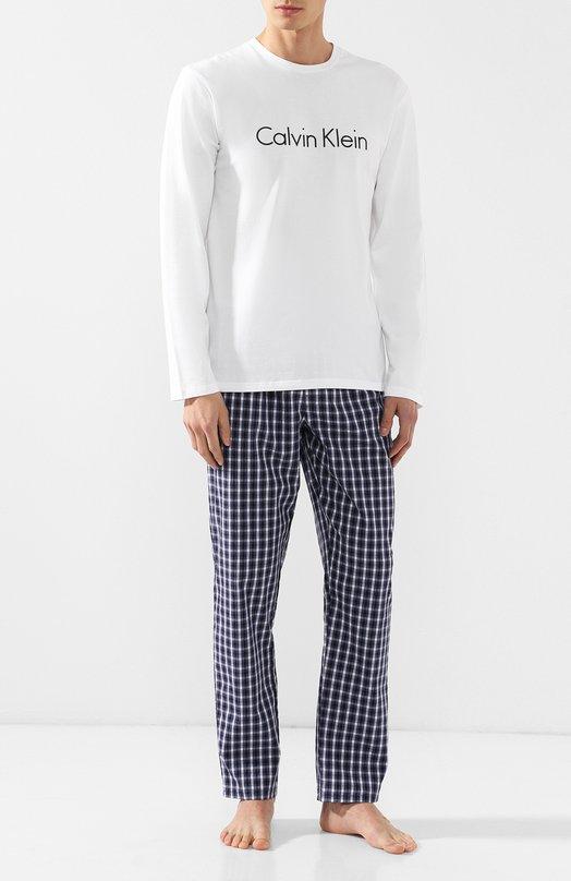 Хлопковая пижама с брюками Calvin Klein Underwear