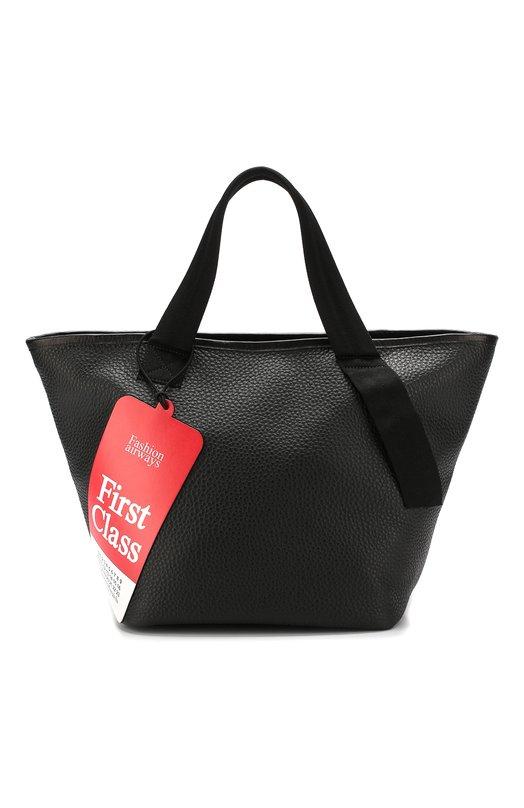 Купить Сумка-шоппер из кожи с отделкой Maison Margiela, S56WC0050/P0399, Италия, Черный, Кожа натуральная: 100%;
