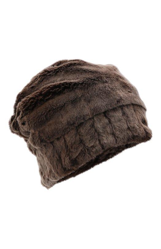 Купить Норковая шапка FurLand, 0105108150010200000, Россия, Коричневый, Мех норки: 100%;