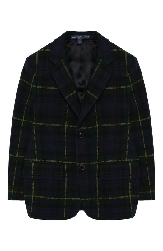 Шерстяной пиджак на двух пуговицах Polo Ralph Lauren