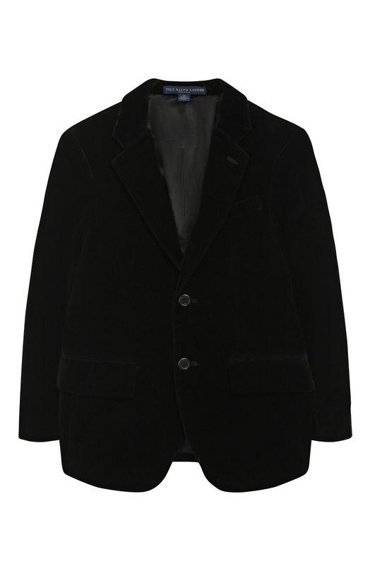 Хлопковый пиджак на двух пуговицах Polo Ralph Lauren