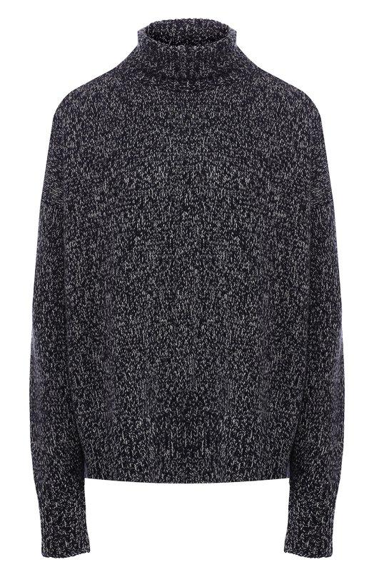 Купить Кашемировый пуловер с высоким воротником The Row, 4260Y187, США, Темно-синий, Кашемир: 100%;