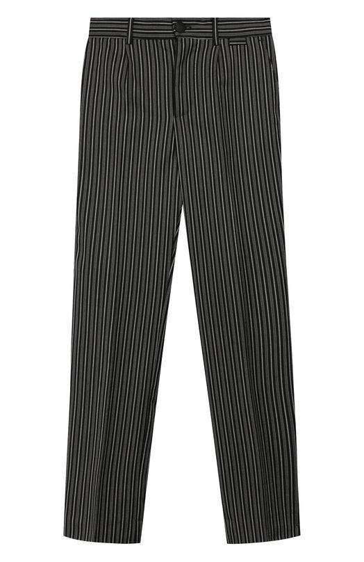 Купить Шерстяные брюки Dolce & Gabbana, L42P80/FRBCN/8-14, Румыния, Черный, Шерсть: 98%; Эластан: 2%;