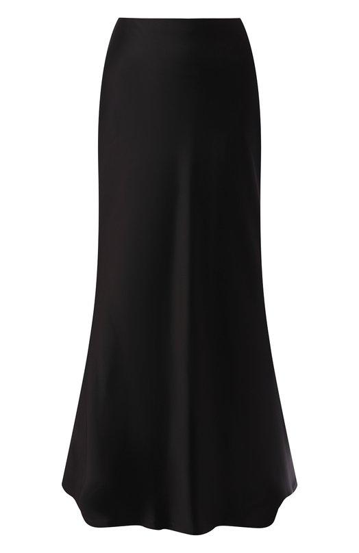 Купить Однотонная юбка из вискозы Zimmermann, 4888SUNB, Китай, Черный, Вискоза: 90%; Эластан: 10%;