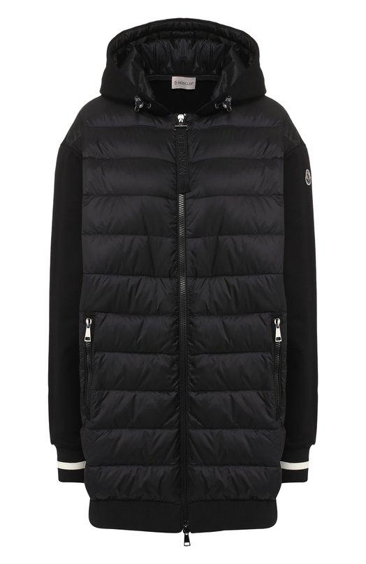 Куртка на молнии с капюшоном Moncler Moncler